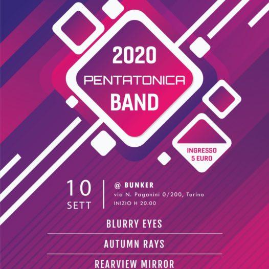 2020 Pentatonica Band (Live al Bunker)